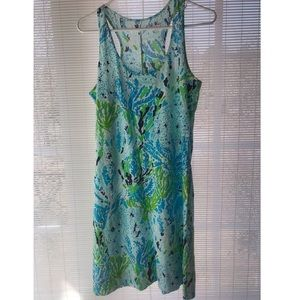 Lilly Pulitzer racer back dress